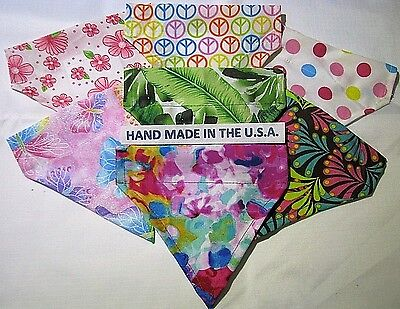 Over-the-Collar Bandana TROPICAL/SUMMER - Dog/Cat/Ferrit/Large/Small Breeds USA - Large Breed Cats