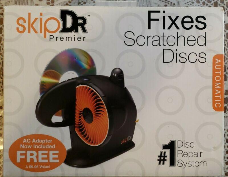 SkipDr Premier Motorized AutoMax Disc CD DVD Repair System Digital - New
