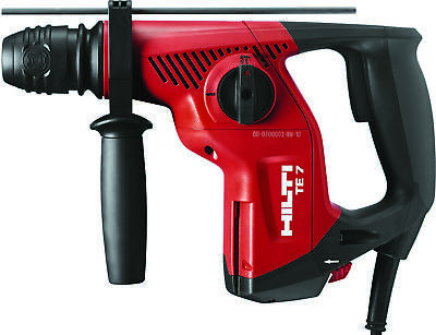 Hilti Te 7 - Corded Rotary Hammer Drill - Performance Package - 3497792 - New