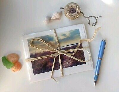 Beach Themed Birthday (6 Variety Beach Themed Blank Note Cards w/Envelopes. Perfect as Gifts!)