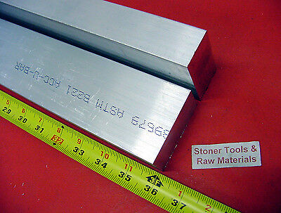 2 Pieces 34 X 1-12 Aluminum 6061 Flat Bar 36 Long T6511 Extruded Mill Stock