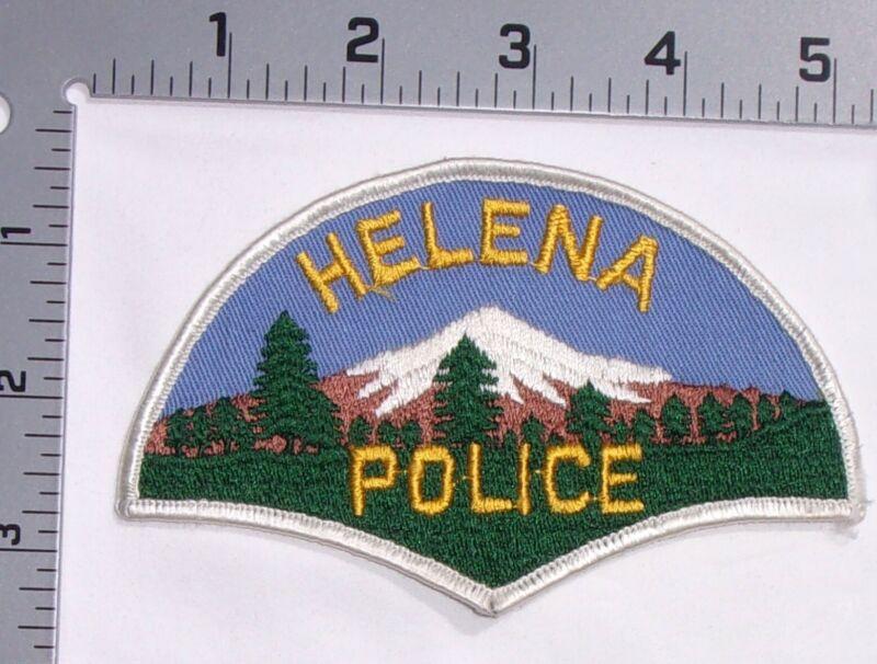 Vintage Helena Montana Police Department Shoulder Patch