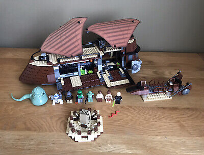 LEGO Star Wars Jabba's Sail Barge Set (6210) with 8 Minifigures