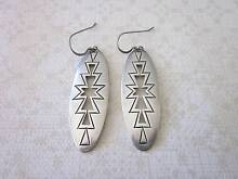 Vintage silver earrings signed New Lambton Newcastle Area Preview
