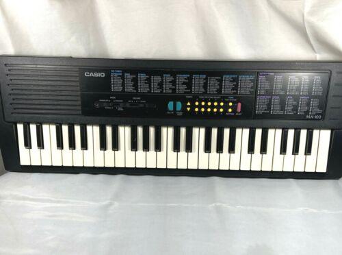 RARE Vintage Casio MA-100 Electronic Keyboard – TESTED