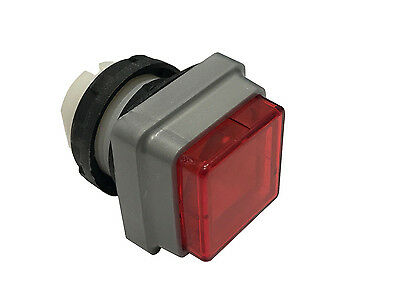 Push Button For Heidelberg Press Red Square Qty1 Offset Parts New