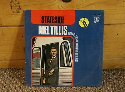 Mel Tillis   Stateside  With Dolly Parton    Sealed  Original Vinyl Lp Record