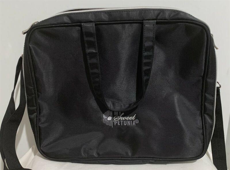 My Sweet Petunia MISTI BAG Tote Travel Black Studio Craft Bag