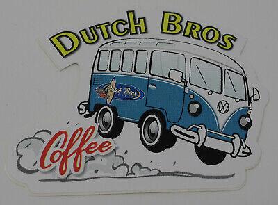 Dutch Bros Coffee VW Surfboard Surfer Van Summer Souvenir -