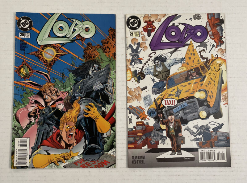 Lobo #20 And 21 Lot Of 2