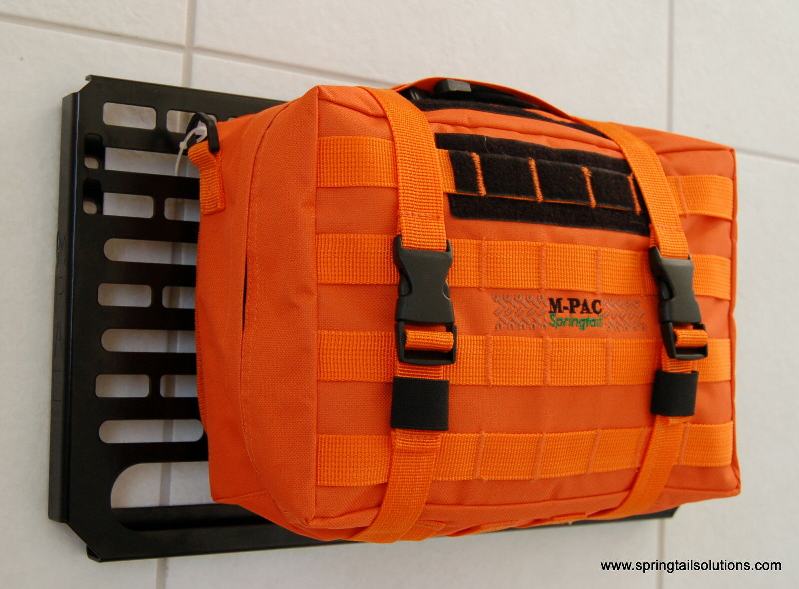Springtail Mpac Orange First Aid Molle Pouch (rip-away) Large 1st Aid Bag