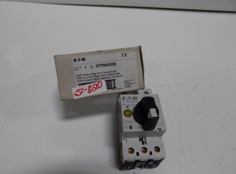 EATON CUTLER-HAMMER MANUAL MOTOR PROTECTOR  XTPM020B NIB