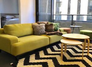 3 seat sofa $120 , good condition ,Pick up in Melbourne city