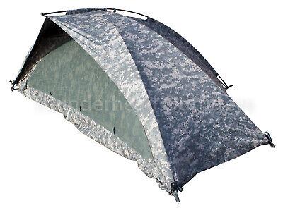 USGI ORC Industries 1-Man IMPROVED COMBAT SHELTER ICS Army Tent ACU Digital VGC