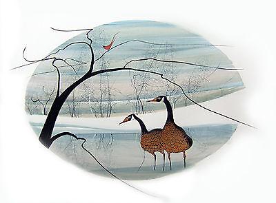 P. Buckley Moss Print - Winter's Peace