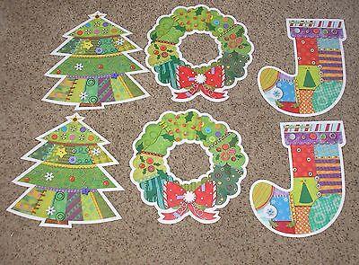 Jumbo Bulletin Board - Teacher Resource: 6 Jumbo Christmas Bulletin Board Accents  - 10