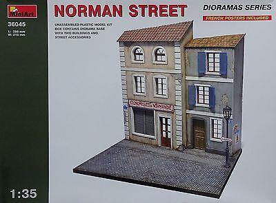 MINIART #36045 Norman Street Diorama in 1:35