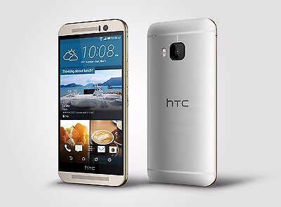 HTC One M9 (Latest After) - 32GB - Gold on Silver (T-Mobile) 7/10