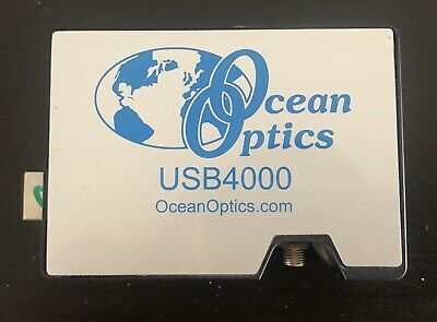 Ocean Optics Usb4000 Spectrometer Range345-1045 25umslit With Software