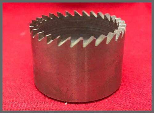 """California Aircraft Tool Co. 28-Tooth Hole Saw - AT413-19  1-1/2"""" - 1/2-20"""
