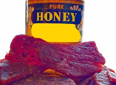 Climax Premium Slightly Sweet 4 OZ. Mild & Tender Honey Glazed Beef Steak Jerky