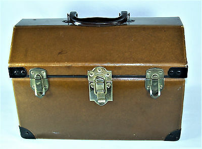 1940's Small Animal Pet Dog Cat Rabbit Travel Carrier Hard Case - Hipster Pets