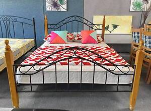 TODAY DELIVERY BEAUTIFUL MODERN Queen bed & Comfortable mattress Belmont Belmont Area Preview