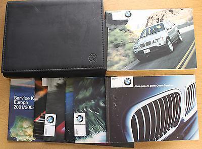 GENUINE BMW X5 E53 HANDBOOK OWNERS MANUAL 1999-2003 PACK 14548 !