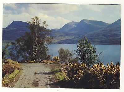 Old Postcard (1983) - Loch Torridon from Alligin Road, Ross-shire - Posted M112