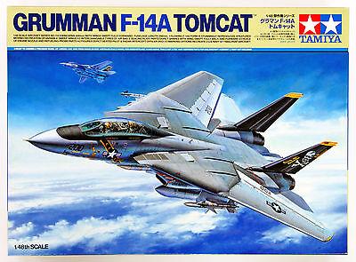 Tamiya 61114 Grumman F-14A Tomcat 1/48 scale kit