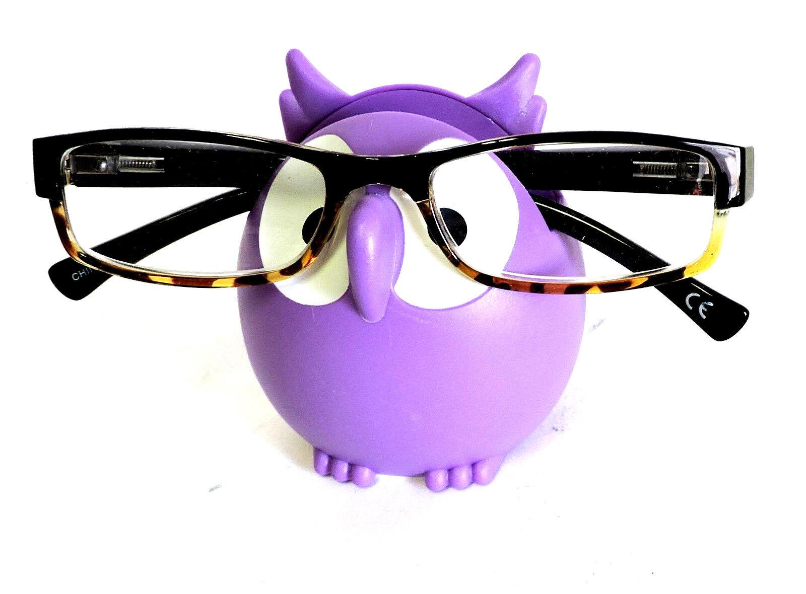 Owl Glasses Sunglasses Eyeglass Holder Stand Display Rack Sm