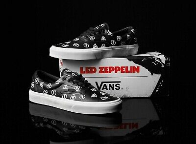 VANS X SHOES - Led Zeppelin ERA Size 11 NEW IN BOX Sneakers 50th Anniversary