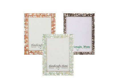 5x7 Picture Frames Chic Photo Frame Mother of Pearl Handmade Vintage Gifts   - Vintage Photo Frame