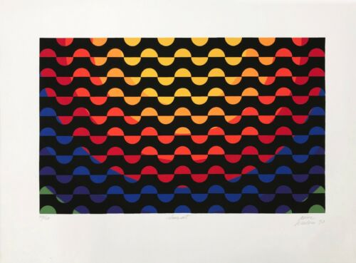"""Antonio Perez Melero """"sunset"""" 1990 