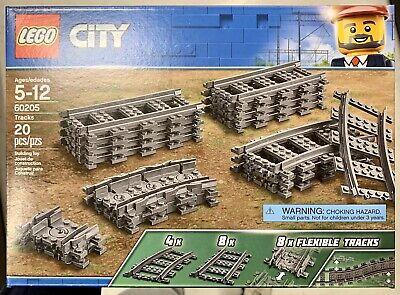 LEGO City Trains Tracks - Rail Building Kit (60205)