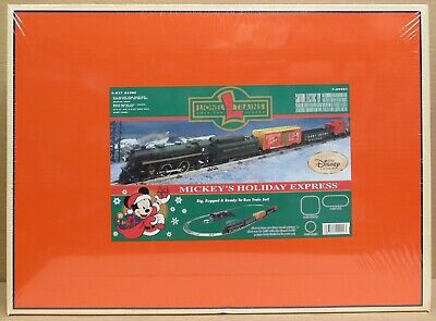 Lionel 99001 Mickey's Holiday Express Christmas Train Set - O-Gauge FAC SEALED!