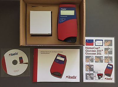 Brand New Hemocue Glucose 201 Analyzer