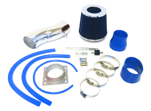 BLUE Air Intake system Kit / Filter set For 1995-1998 Nissan 200SX 1.6L L4
