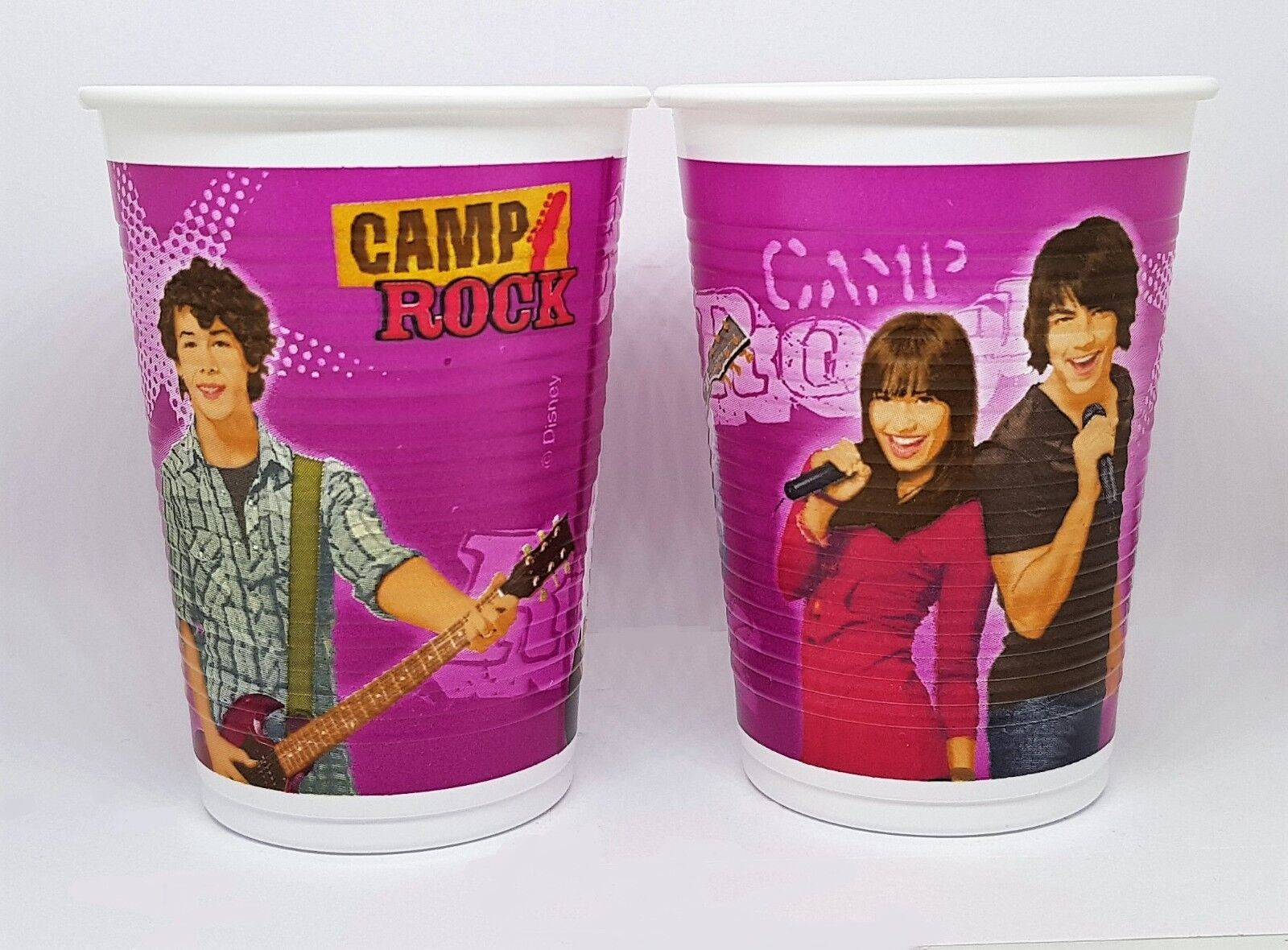 JOBLOT 240x Plastic Cups 200ml Disney's Camp Rock Party Cups