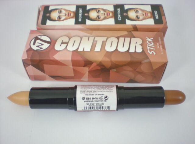 W7 Dual Face Shaper Contour Stick 4g choose your skin tone