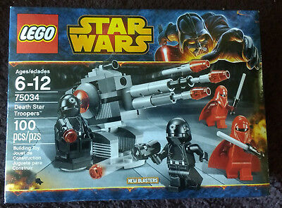 LEGO Star Wars Death Star Troopers (75034) New MISB OOP
