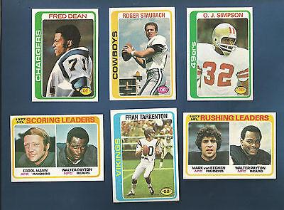 1978 Topps 49Ers O J  Simpson  Card  400