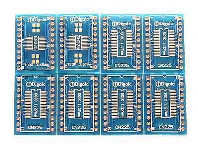 8pk So Sop Soicssop 141620 Pitch 0.65mm And 1.27mm To Dip Adapter Converter