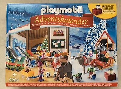 New PLAYMOBIL 9264 Santa's Workshop Christmas Advent Calendar Santa Elves Toys