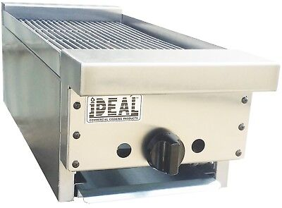 New 12 Commercial Radiant Broiler By Ideal. Made In Usa. Nsf Etl Approved.