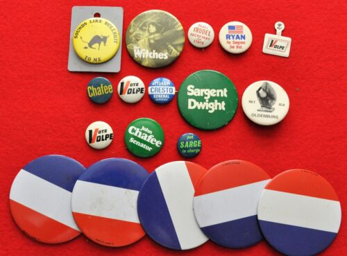Political.  Lot of Vintage Political Buttons (NW-BSM/190122)