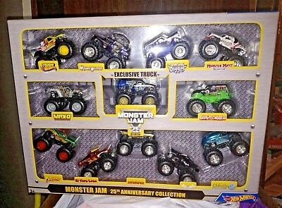 Hot Wheels Monster Jam 25Th Anniversary Collection   Exclusive Truck Nib