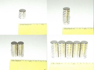 (Lightweight, Super Strong 5, 10, 20 , or 50 Piece Neodymium Rare Earth Magnets)