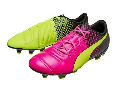 PUMA evoSPEED 4.3 TRICKS FG JR - JUNIOR FOOTBALL BOOTS - 103624 01 -BRAND NEW