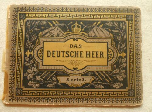 """Original Booklet with large color fold out of German uniforms fold out is 39"""""""